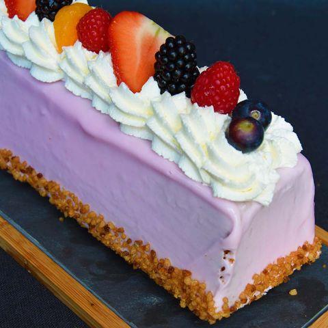 Opgemaakte cake